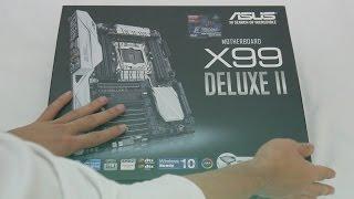 ASUS X99-DELUXE II Review   مراجعة لمذربورد مطنوخة