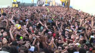 MAJOR LAZER - PON DI 10K @ MAD DECENT BLOCK PARTY LA - 8.20.2011