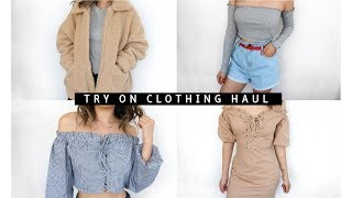 TRY ON CLOTHING HAUL feat. IAMGIA, TIGERMIST & GLASSONS