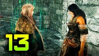 [Dark Souls 2: Scholar of the First Sin #13] Башня Солнца. Темнолесье
