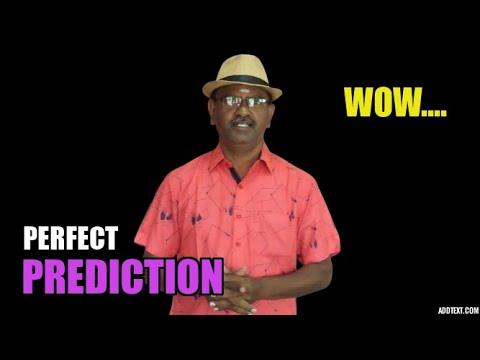 MAGIC SHOW TAMIL I MAGIC TRICKS IN TAMIL #671 I PERFECT PREDICTION I தமிழ் மேஜிக் I