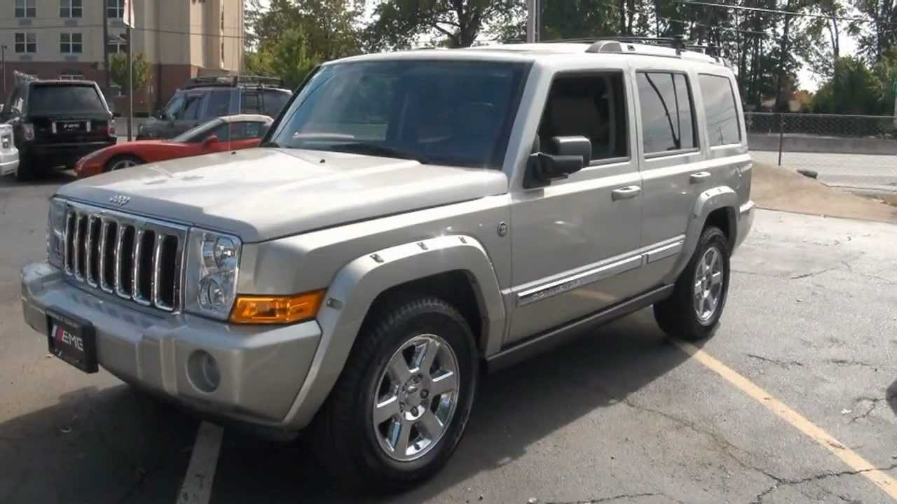 2007 jeep commander 5 7 hemi limited stock 2342 youtube. Black Bedroom Furniture Sets. Home Design Ideas