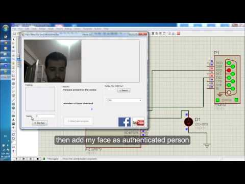 Authentication using Face Recognition by PC and Microcontroller PIC or Arduino