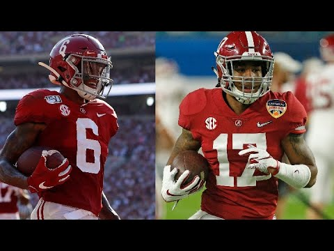 The Alabama receiver unit: What to expect from DeVonta Smith and Jaylen Waddle in 2020