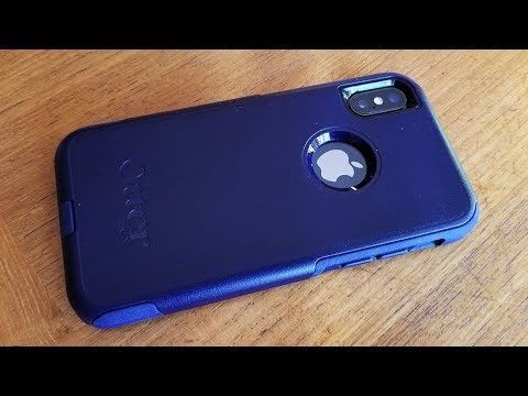 official photos dbb32 c39f9 Iphone X Otterbox Commuter Case Review - Fliptroniks.com