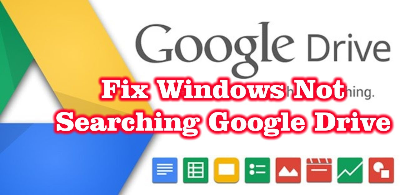 google drive windows 10 problem