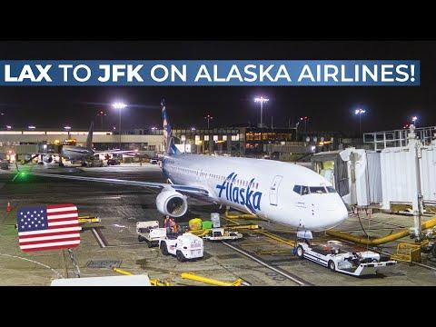 TRIPREPORT   Alaska Airlines (ECONOMY)   Los Angeles - New York JFK   Boeing 737-800