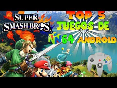Top 5 Mejores Juegos De Nintendo 64 Para Android Parte 1 Mega