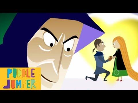 Rapunzel   Classic Tales Full Episode   Puddle Jumper Children's Animation