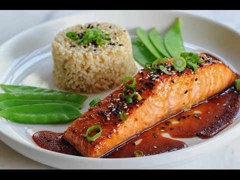 SESAME GINGER GLAZED SALMON (EASY & DELICIOUS)