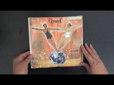 Art Journal Midori Flip Throught