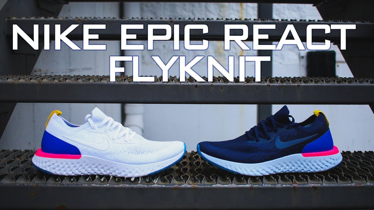5503a1ddb78f Nike Epic React Flyknit Review - YouTube