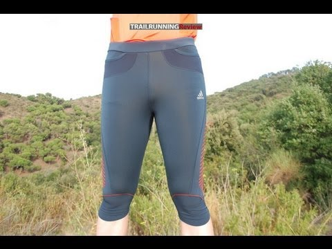 4f9346306032b Adidas Trail 3 4 Tights Review - YouTube