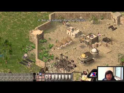 Pro Gamers vs Stronghold Crusader HD