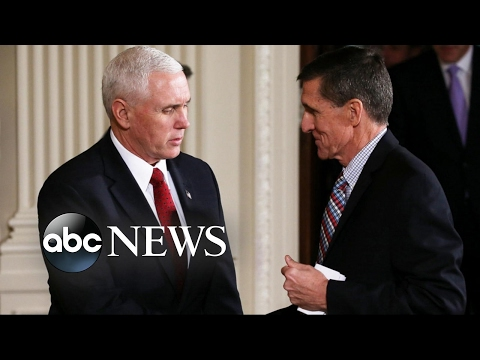 Michael Flynn Resigns After 'Erosion of Trust'