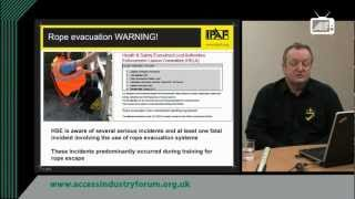 How to plan for an emergency rescue using MEWPS - IPAF