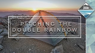 Pitching The Tarptent Double Rainbow On Rocky Soil With Limited Floor Space