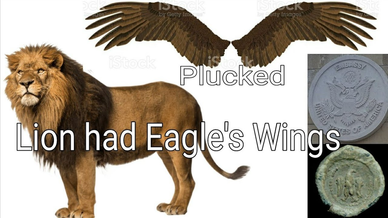 Lion had Eagle Wings Plucked - Trump Antichrist LEELAND JONES 21 JAN 21
