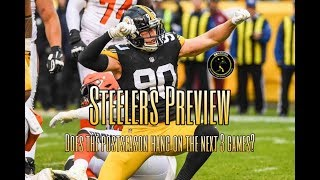 Steelers Preview: Does the Browns game start a 3-game stretch that will determine the playoffs