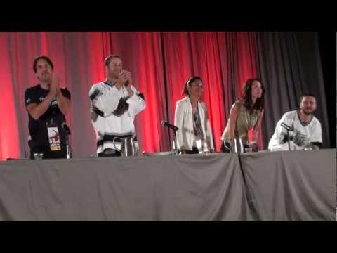 Eureka! HD Panel at Phoenix Comicon Colin Ferguson Salli Richardson Farentino Wheaton Jaime Paglia