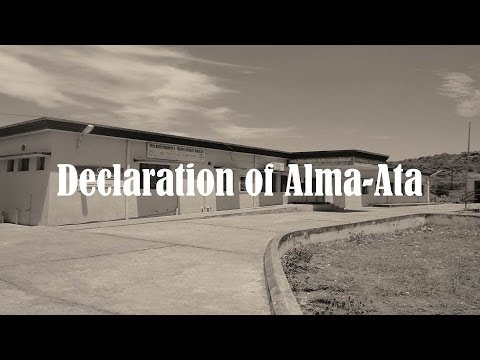 Declaration of Alma-Ata