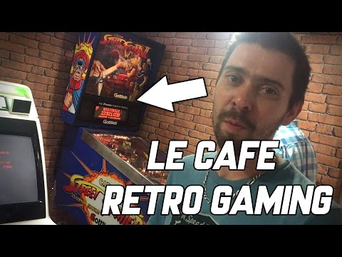 Le café Retrogaming à Paris, Extra Life Café.