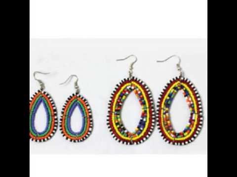 African Earrings-African Jewelry