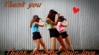 THANK YOU (แต๊งกิ้ว) - Thank You for Your Love cover by Ongaku no Girls