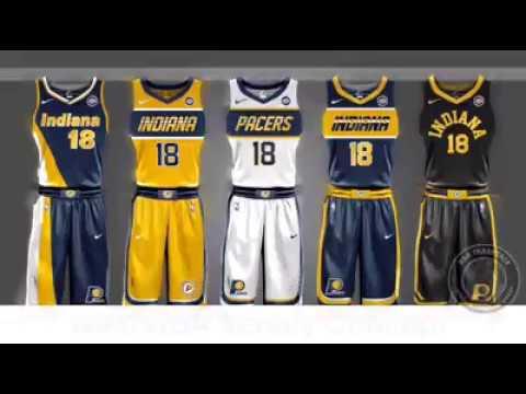 7e5568a28 NIKE NBA JERSEY CONCEPT 2017 - YouTube