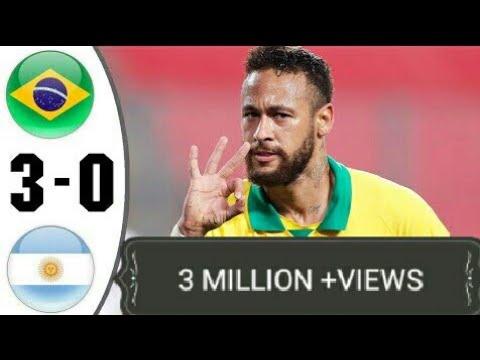 Download BraziI vs Argentiina 3−0 - Extеndеd Hіghlіghts & All Gоals 2021 HD