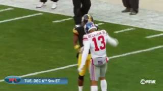 Odell Beckham Jr. Mic'd Up vs Antonio Brown and Steelers
