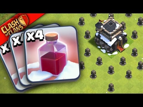 "Thumbnail: WHAT HAPPENS WHEN YOU USE ONLY ""Santa Spells"" In Clash of Clans??"