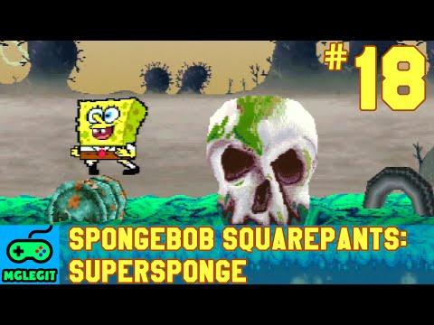SpongeBob SquarePants SuperSponge Walkthrough Part 18 - Man Ray's Lair (PS1) (No Commentary)