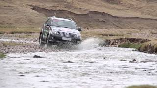 Toyota Fortuner test drive