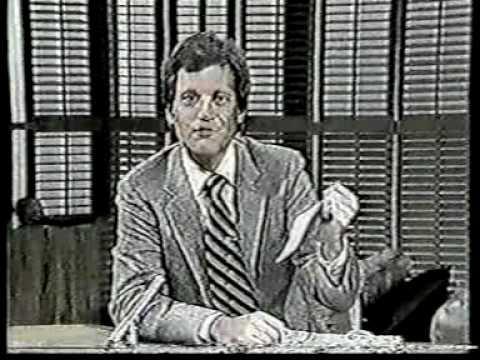 David Letterman 1980