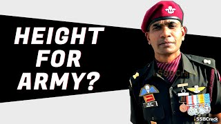 Minimum Height Required To Join Indian Army   Navy   Air Force