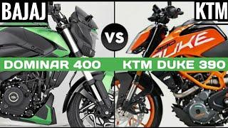 2019 Bajaj Dominar 400 Vs 2019 Ktm Duke 390 Detailed Comparison   Dominar 400 Vs