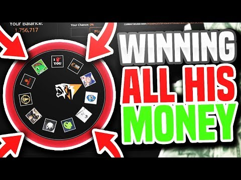 WON ALL HIS MONEY (CS GO Gambling Funny Moments)