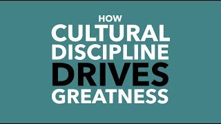 How Cultural Discipline Drives Greatness, Authentic. Leadership Training, Jeff Chavez