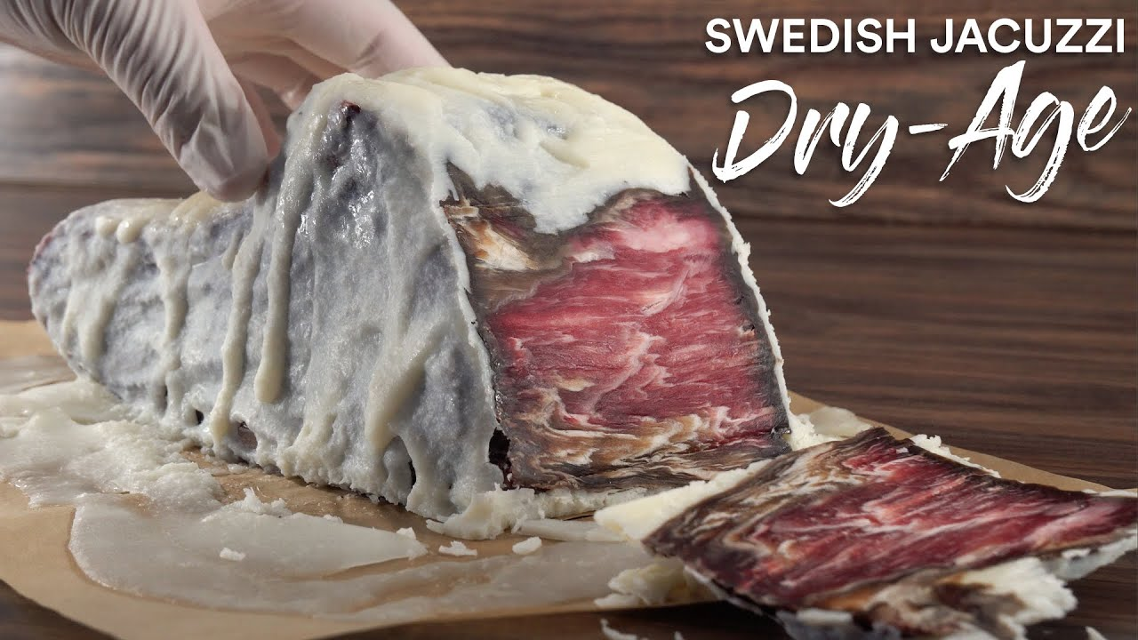 The Swedish JACUZZI Steak DRY-AGE Experiment!