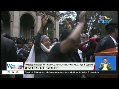 Ethiopians hold ceremony to signify burial of plane crash victims Mp3