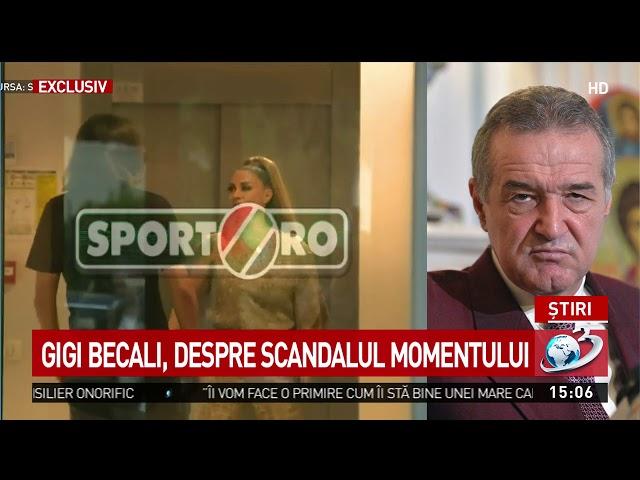Gigi Becali, reacție spumoasă după ce Anamaria Prodan l-a lovit pe Dan Alexa: Eu dacă eram, o lu
