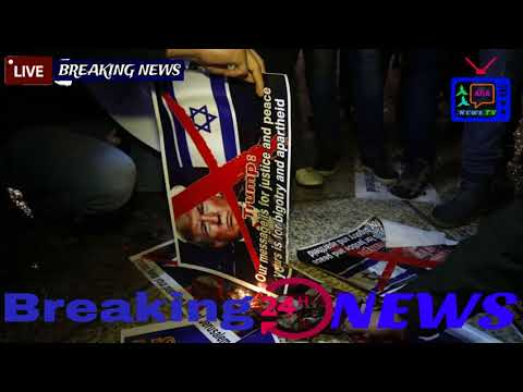 Growing backlash after Trump's recognition of Jerusalem as Israeli capital_LIVE HD Breaking NEWS
