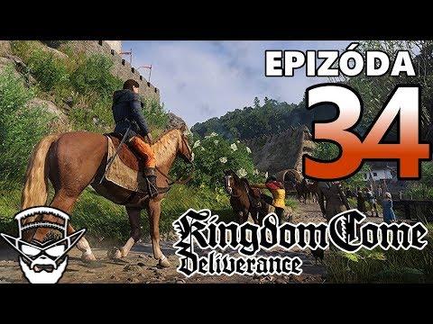 SKONČIL SOM V BASE ! - Kingdom Come Deliverance / 1080p 60fps / CZ/SK Lets Play / # 34
