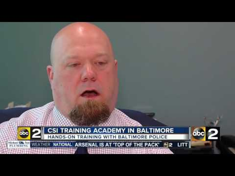 Baltimore police offer crime scene academy course to teach how investigators process scenes