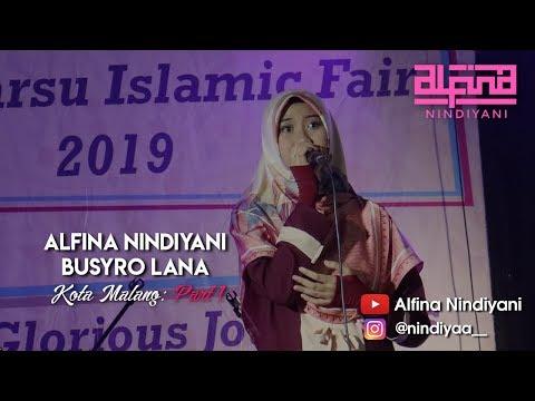 Alfina Nindiyani SMA 3 MALANG - BUSYROLANA (LIVE PERFORMANCE)