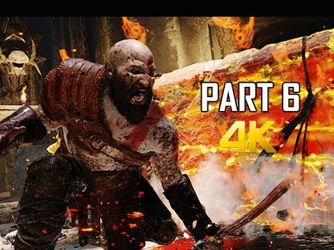 GOD OF WAR Gameplay Walkthrough Part 6 - Fire Troll (PS4 PRO 4K Commentary 2018)