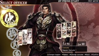 Dynasty Warriors 8 All Characters [PS3]