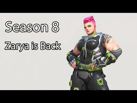 Zarya Is Back in Season 8! King's Row 44-2 Elims