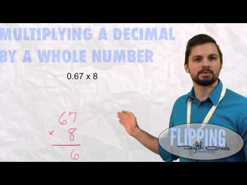 Topic 6.4: Multiplying a Decimal By A Whole Number